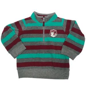 Infant Boy 12 month 1/4 Zip Pullover Sweater